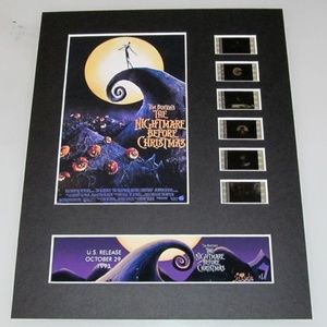 Nightmare Before Christmas 35mm Film Display 8x10